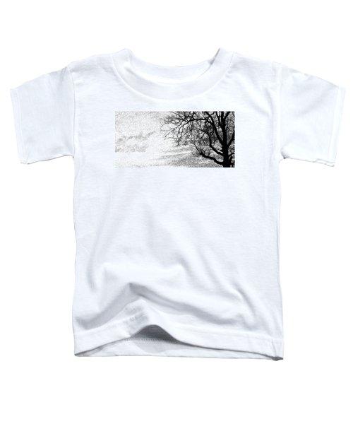 Black Rain Toddler T-Shirt