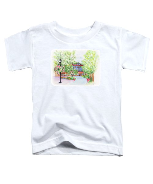 Black Sheep On The Plaza Toddler T-Shirt