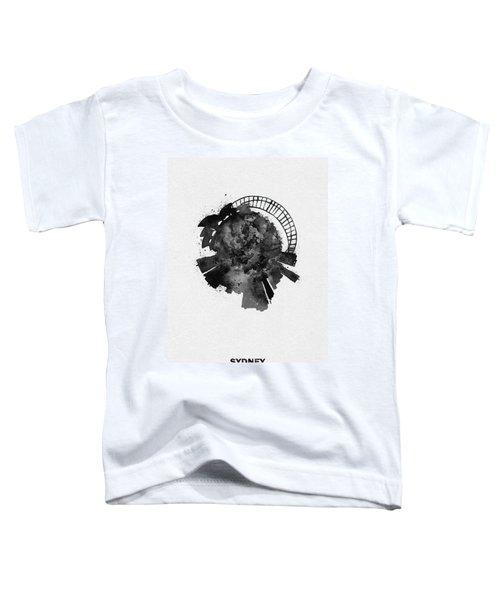 Black Skyround Art Of Sydney, Australia Toddler T-Shirt