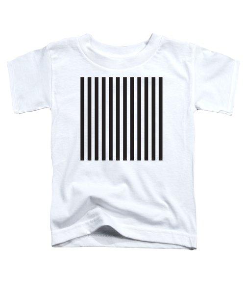 Black Stripes Toddler T-Shirt