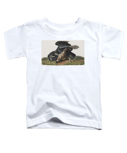 Black Vulture Or Carrion Crow Toddler T-Shirt