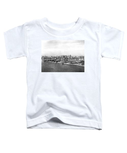 Blackwells Island In Nyc Toddler T-Shirt