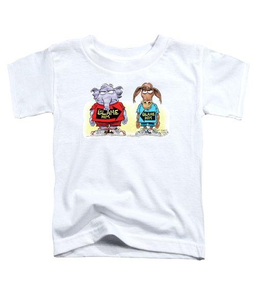 Blame Him Toddler T-Shirt