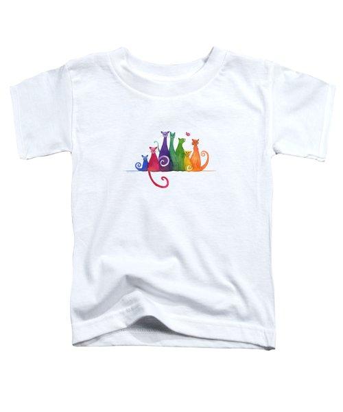 Blended Family Of Seven Toddler T-Shirt