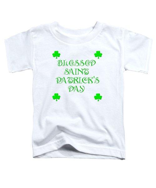 Blessed Saint Patricks Day Toddler T-Shirt