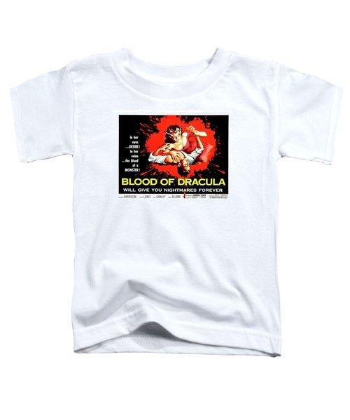Blood Of Dracula, Vampire Woman Attack Toddler T-Shirt