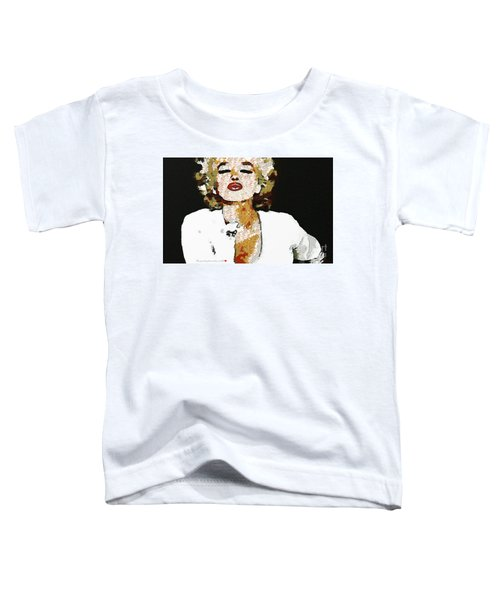 Blow Me A Kiss Marilyn Monroe In The Mix Toddler T-Shirt