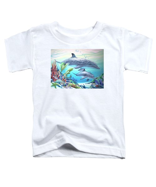 Blowing Bubbles Toddler T-Shirt