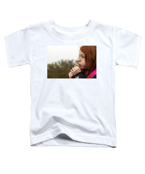 Blowing Dandelions Toddler T-Shirt