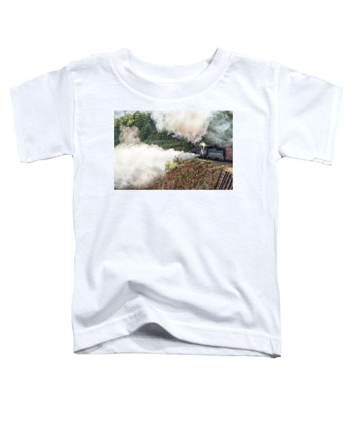 Blowing Off Steam Toddler T-Shirt