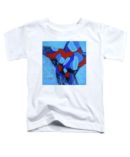 Blue And Red Toddler T-Shirt