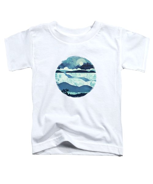 Blue Desert Toddler T-Shirt by Spacefrog Designs