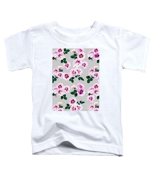 Blue Eyes Roses Toddler T-Shirt