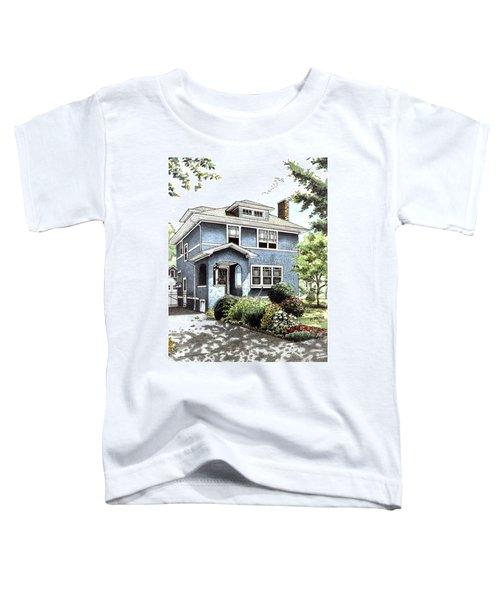 Blue House Toddler T-Shirt