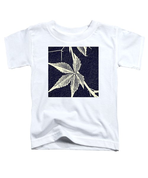 Blue Leaf Toddler T-Shirt