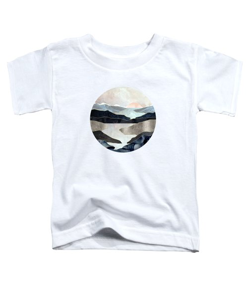 Blue Mountain Lake Toddler T-Shirt