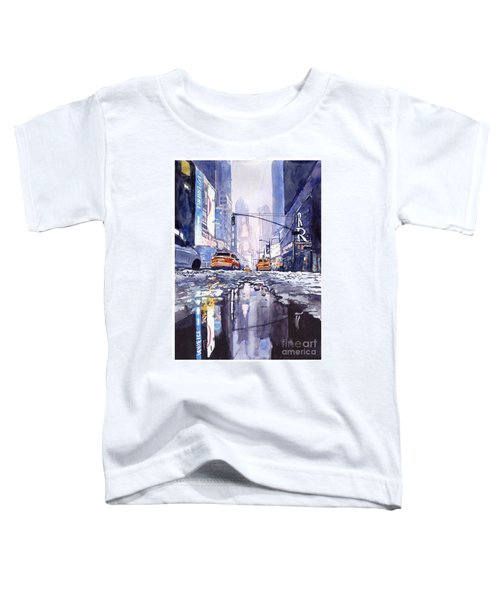 Blue Skyscrapers Toddler T-Shirt