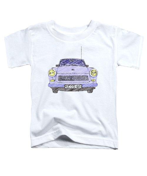 Blue Trabant Toddler T-Shirt