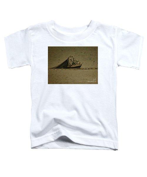 Blue Trawler 2 Toddler T-Shirt