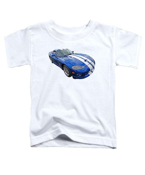 Blue Viper Toddler T-Shirt