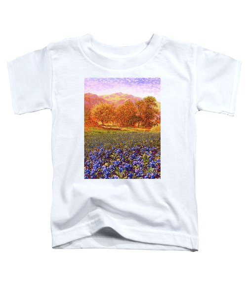 Blueberry Fields Season Of Blueberries Toddler T-Shirt