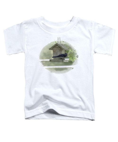 Bluejay Toddler T-Shirt by Judy Hall-Folde