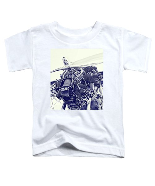 Blueprint Radial Toddler T-Shirt