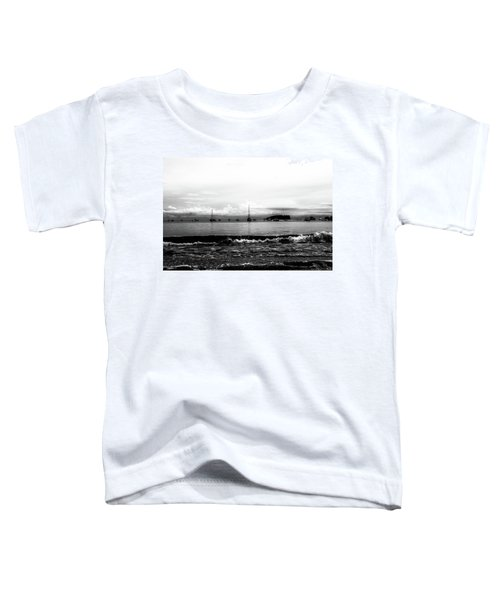 Boats And Clouds Toddler T-Shirt