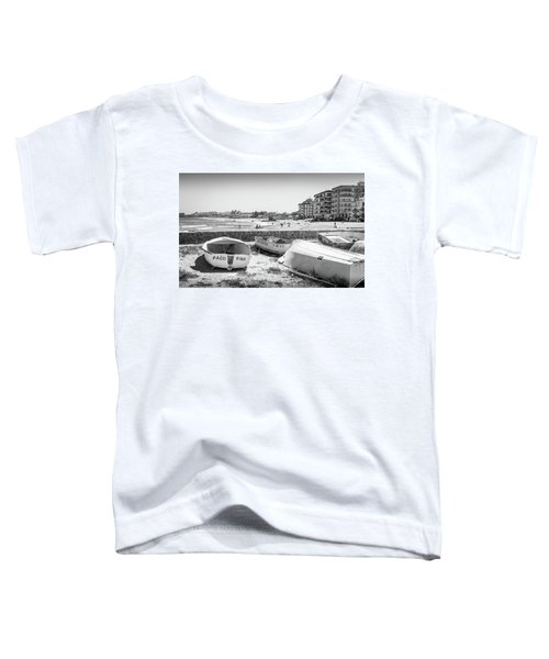 Boats On The Beach Toddler T-Shirt
