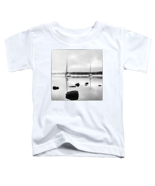 Boats On Ullswater In The Lake District Toddler T-Shirt