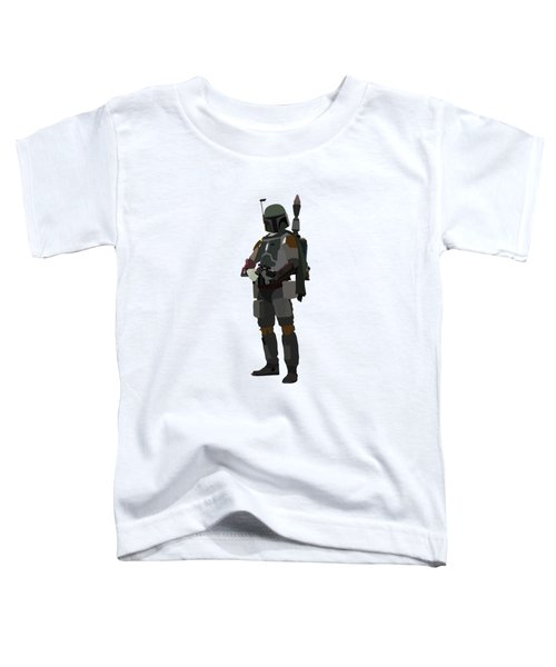 Boba Fett Star Wars Character Quotes Poster Toddler T-Shirt