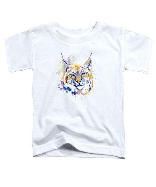 Bobcat Head Toddler T-Shirt