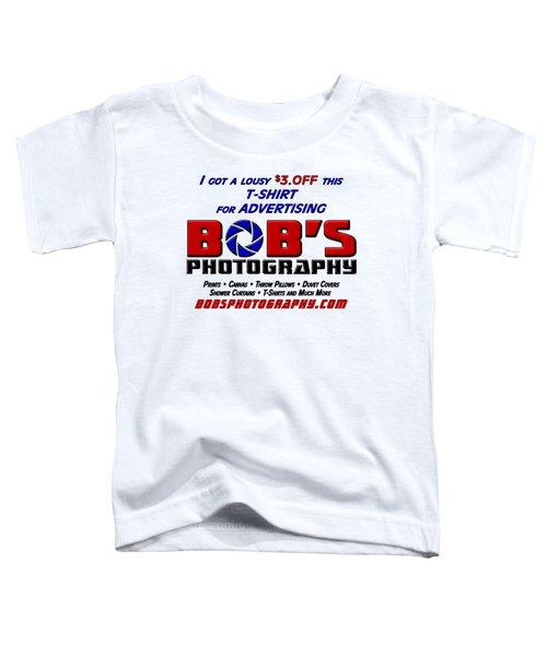 Bobs Photography T-shirt Toddler T-Shirt