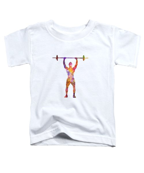 Body Buiding Man Isolated  Toddler T-Shirt