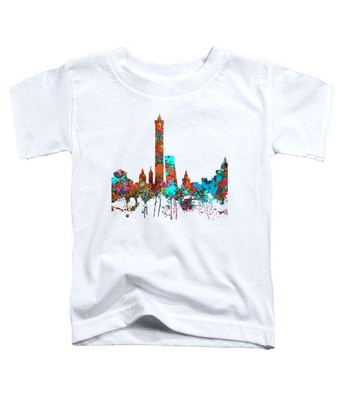 Bologna Italy  Skyline  Toddler T-Shirt by Marlene Watson