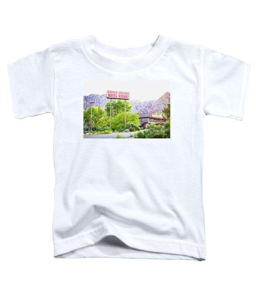 Bonnie Springs Motel Resort Toddler T-Shirt