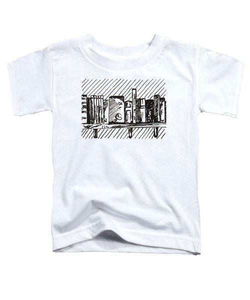 Bookshelf 1 2015 - Aceo Toddler T-Shirt