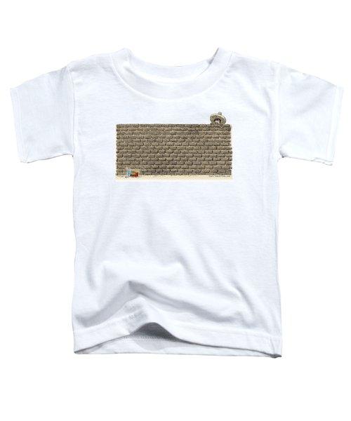 Border Wall Toddler T-Shirt