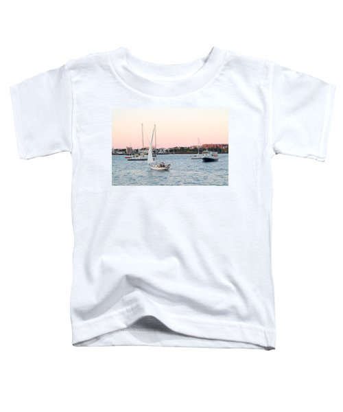 Boston Harbor View Toddler T-Shirt