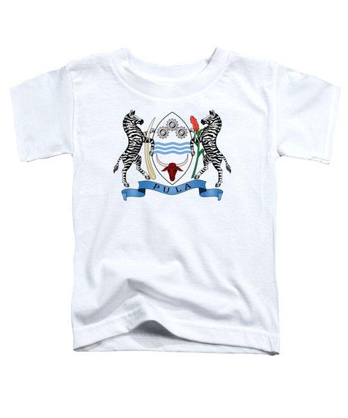 Botswana Coat Of Arms Toddler T-Shirt