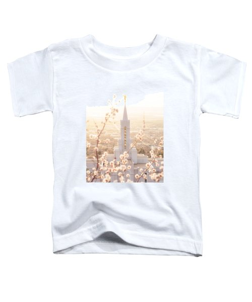 Bountiful Temple Blooms Toddler T-Shirt