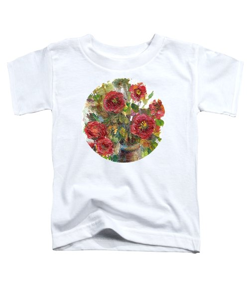 Bouquet Of Poppies Toddler T-Shirt