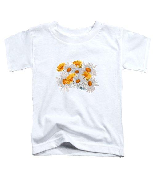 Bouquet Of Wild Flowers Toddler T-Shirt