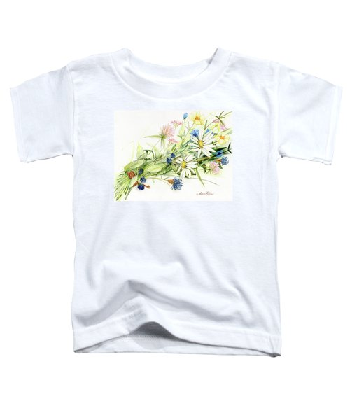 Bouquet Of Wildflowers Toddler T-Shirt