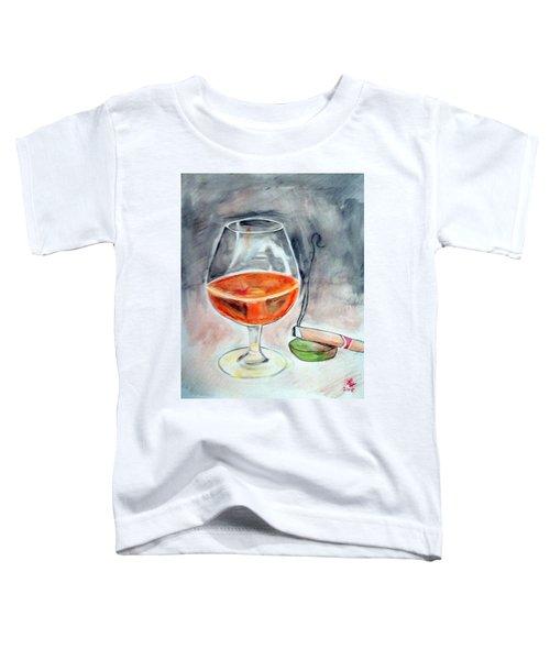 Bourbon And Smoke Toddler T-Shirt
