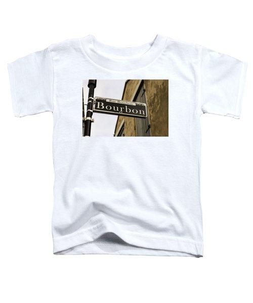 Bourbon Street, New Orleans, Louisiana Toddler T-Shirt