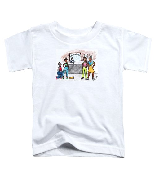 Boy Please Toddler T-Shirt by Diamin Nicole