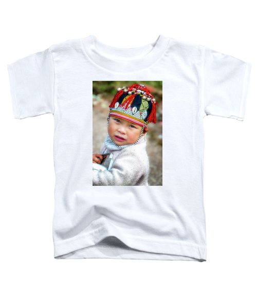 Boy With A Red Cap. Toddler T-Shirt