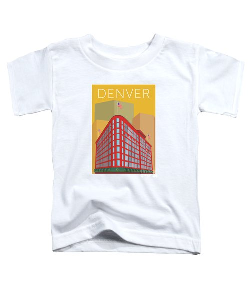 Denver Brown Palace/gold Toddler T-Shirt