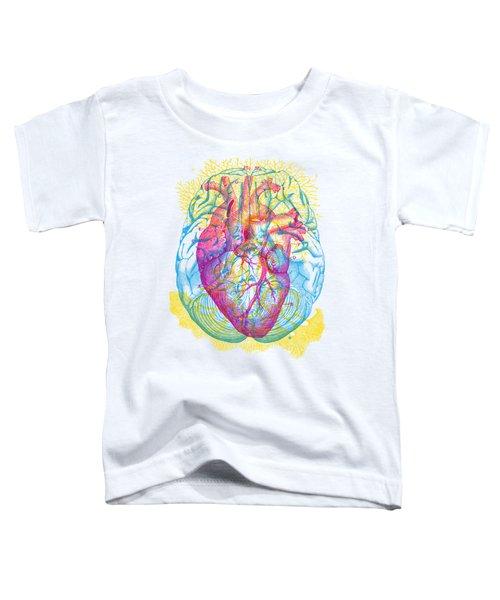 Brain Heart Circulation Toddler T-Shirt